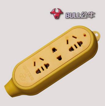公牛(bull)gn-c4 三孔工程系列无线电源插座